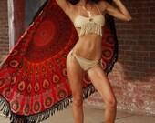 Swimwear Crochet Bikini Top Bikini Bottom women swimsuit Summer Fashion tie bikini beach festival summerwear senoaccessory