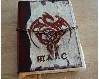Magic Journal, spellbook, dragon book, fantasy , rpg, magician journal