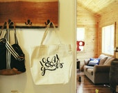 Local Goods- Oversized tote bag