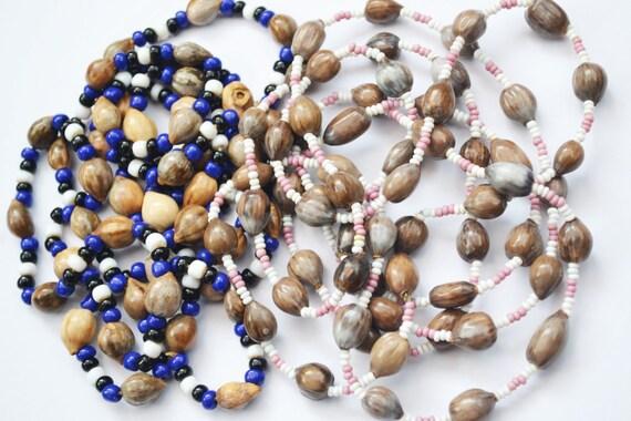 Collares/Zulu africano del sur collar/Masai collar/Imfibinga río dentición Natural granos