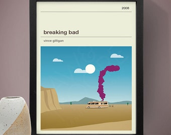 Breaking Bad Poster, TV Print, Print, Poster