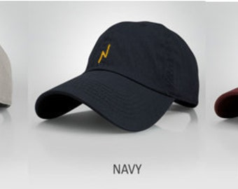 HP Lightning Bolt Scar Baseball Dad Hat- Embroidered Hat- Choose your Color/placement!