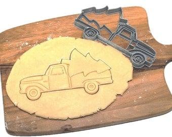 Tree Farm Truck Cookie Cutter