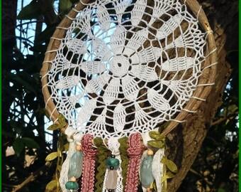 Dreamcatcher - Forest inspired - amethyst