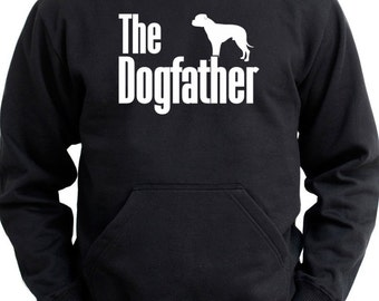 The dogfather American Bulldog Hoodie