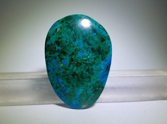 Red Malachite Stone : Chrysocolla malachite and cuprite blue green by