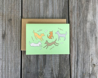 Blank Dog Note Cards, Dog Lover Cards, Best Friend Gift