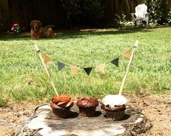 Custom Cake Topper Bunting