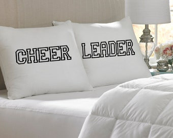 Cheerleader Pillow Case Set