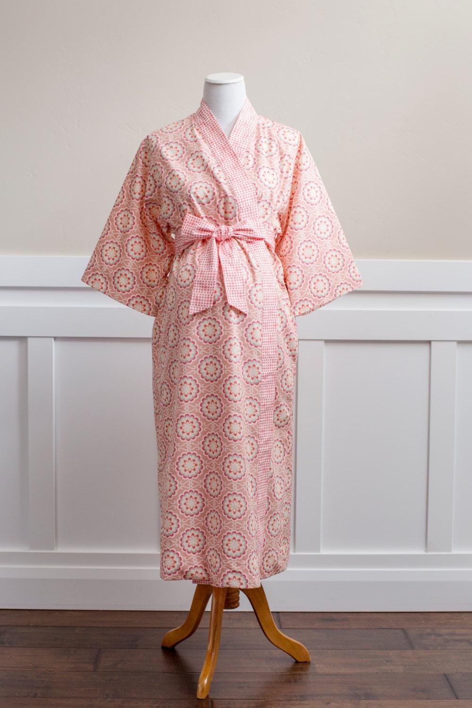 cotton maternity bathrobe