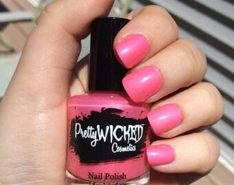 Bubblegum Pink Nail Polish, Mimi Polish, Hot Pink Nail Polish, Creme Nail Polish, Pink Nail Polish, Bright Pink Nail Polish