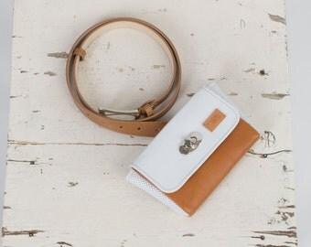 Leather belt bag / leather fannie bag / belt bag / fanny pack / leather fannie bag / leather purse / leather fanny pack /