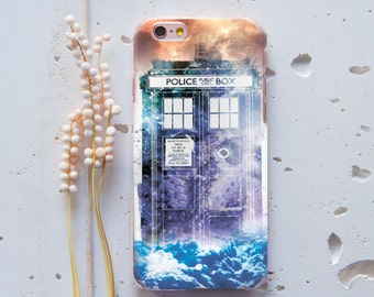 Doctor Who iPhone 6 Case  Phone iPhone 6s Plus Tardis The Doctor Time Machine Phone Cases 5s Police Box Bad iPhone 5s Case  Samsung S7 234