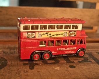 Vintage London Double Decker Transport Bus