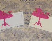 Set of 6 Tea Party Tea Set Place Cards