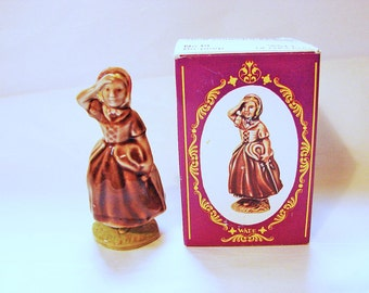 LITTLE BO PEEP Large Wade Nursery Rhyme Figurines Large Wade Whimsies, Made in England with box