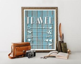 Travel Art, Travel Poster, Travel, Travel Quote, Travel Decor, Travel Printable, Travel Digital Download, Travel Print, Travel Posters 0253