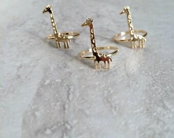 """Shop """"giraffe jewelry"""" in Rings"""