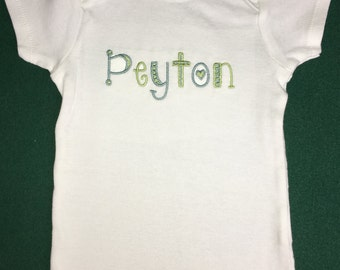 Personalized baby bodysuit toddler shirt - baby shower gift, newborn prop, take home, birthday gift, personalized t-shirt, baby gift