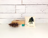 Balsam Pillow, Rustic Home Decor, Cabin Pillows, Tree Pillow, Quote Pillow, Woodland Pillow, Eco Friendly Gifts, 6x6 Inch Square Pillow