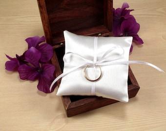 Wedding Ring Pillow Ring Bearer Box Pillow Mini Ring Pillow Rustic Wedding Ring & Wedding ring pillow   Etsy pillowsntoast.com