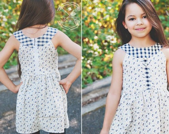 Moya Dress and Tunic, Sizes 2T-8Y, 10 & 12