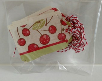 Gift Tags- Cherries