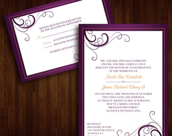 Simply Elegant Wedding Invitations