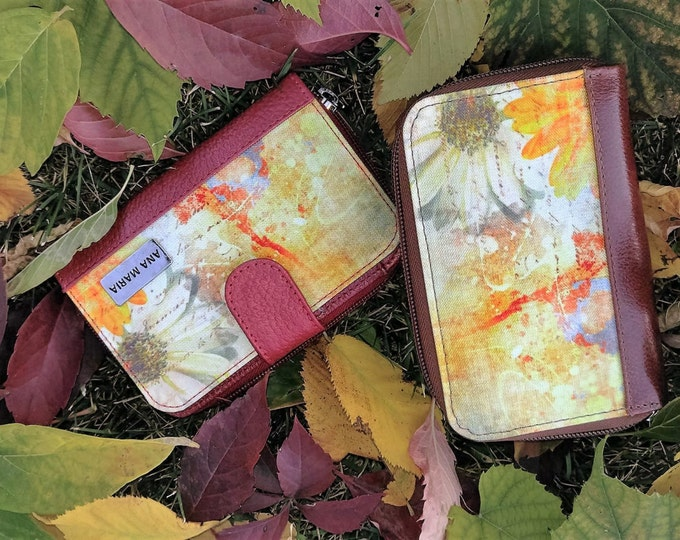 fall flowers Collection small Wallet
