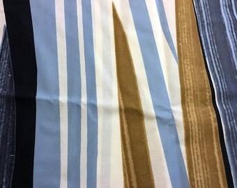 """Marimekko """"Matkalla Maale"""" striped 100% cotton fabric"""