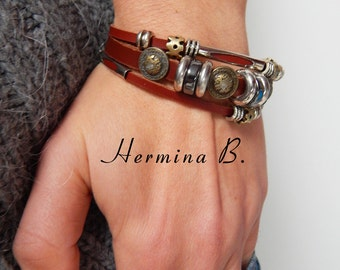 Genuine Leather Bracelet for Women