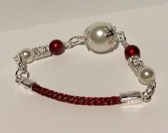 Holiday Viking Knit Bracelet