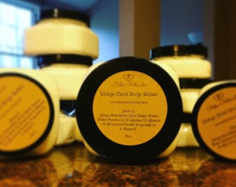 Whipped Mango Seed Body Butter to protect that beautiful skin from the cold.