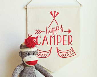 Happy Camper Banner