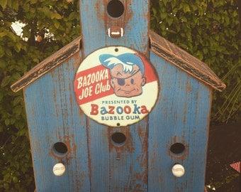 Custom Made Birdhouse (Bazooka Joe)