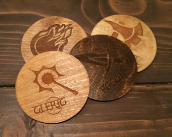 Game Table Coasters