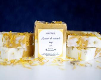 Lavender and Calendula Soap