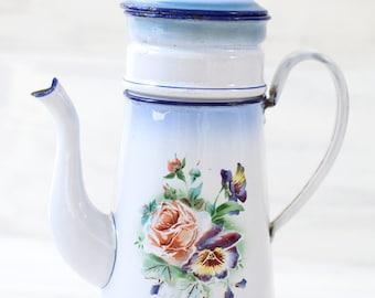 Small Pot Of White Enamel Paint