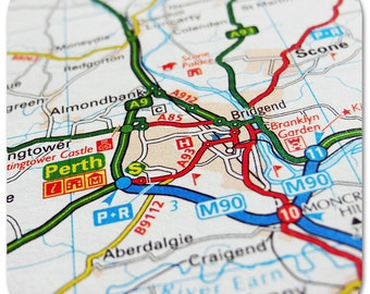 Perth Map Coasters