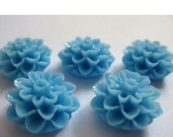 Resin Chrysanthemum earrings