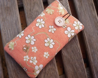 Nexus 5X Fabric case Nexus 4 Cover Pouch Nexus 6P Sleeve Nexus 6 Pouch Nexus 5 Sleeve Fabric Case Nexus 6P  Flowers Fabric