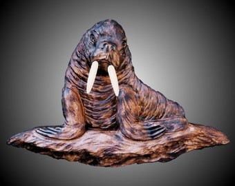 Walrus Version 1 Wall Sculpture