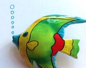 Angel Fish Aquatic Brooch Fish Jewellery Angel Brooch Fish Brooch Wooden Brooch Vintage Brooch