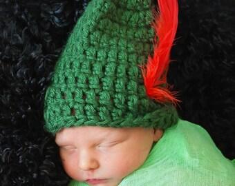 Crochet Peter Pan Hat