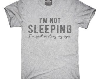 I'm Not Sleeping I'm Resting My Eyes T-Shirt, Hoodie, Tank Top, Gifts