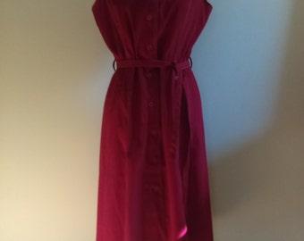Vintage Red Dress by Joni.