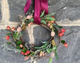 Sweet Buds and Berries Wreath