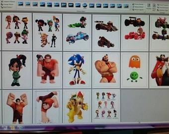 Wreck it Ralph instant download, clip art, digital file