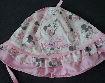 Disney Minnie Mouse babies sun hat 12-24 months  (03118)