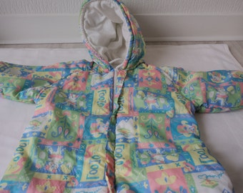 REDUCED Vintage baby padded snow suit  (01450)